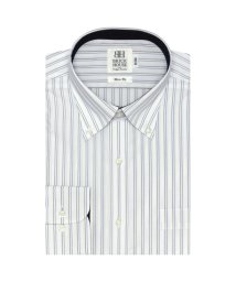 BRICKHOUSE/ワイシャツ長袖形態安定 ボタンダウン ブルー系 スリム/502848619