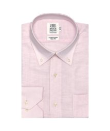BRICKHOUSE/ワイシャツ長袖形態安定 ボタンダウン綿100% ピンク系 スリム/502848681