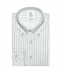 BRICKHOUSE/ワイシャツ長袖形態安定 ボタンダウン綿100% ネイビー系 スリム/502848792
