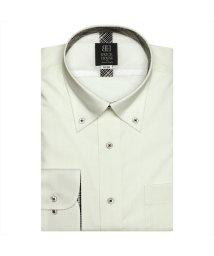 BRICKHOUSE/ワイシャツ長袖形態安定 ボタンダウン クリームイエロー系 (インナー付)/502848794
