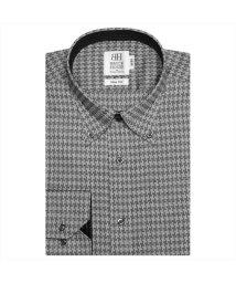 BRICKHOUSE/ワイシャツ長袖形態安定 ボタンダウン グレー系 スリム/502848845