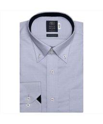 BRICKHOUSE/ワイシャツ長袖形態安定 ボタンダウン綿100% グレー系/502848865