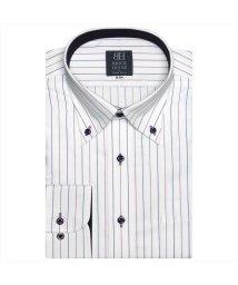 BRICKHOUSE/ワイシャツ長袖形態安定 ボタンダウン パープル系/502848876
