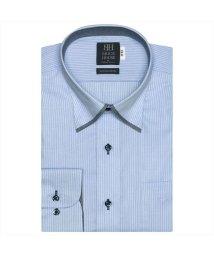 BRICKHOUSE/ワイシャツ長袖形態安定 スナップダウン綿100% サックス系/502848885