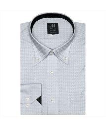 BRICKHOUSE/ワイシャツ長袖形態安定 ボタンダウン ブルー系/502848895