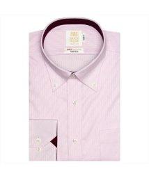 BRICKHOUSE/ワイシャツ長袖形態安定 ボタンダウン綿100% ピンク系 スリム/502848901