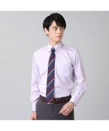 BRICKHOUSE/ワイシャツ長袖形態安定 ボタンダウン綿100% パープル系/502848914