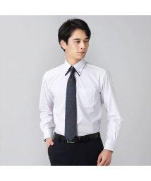 BRICKHOUSE/ワイシャツ長袖形態安定 ボタンダウン 綿100% 白系/502848916
