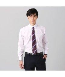 BRICKHOUSE/ワイシャツ長袖形態安定 ボタンダウン綿100% ピンク系/502848917