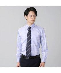 BRICKHOUSE/ワイシャツ長袖形態安定 ボタンダウン綿100% サックス系/502848922