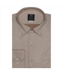BRICKHOUSE/ワイシャツ長袖形態安定 ワンピース ブラウン系/502848928