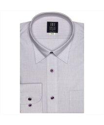 BRICKHOUSE/ワイシャツ長袖形態安定 スナップダウン パープル系/502848929