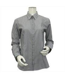 BRICKHOUSE/ウィメンズシャツ長袖形態安定 レギュラー衿 ブラック系/502849355