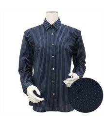 BRICKHOUSE/ウィメンズシャツ長袖形態安定 レギュラー衿 ネイビー系/502849370