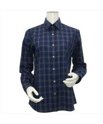 BRICKHOUSE/ウィメンズシャツ長袖形態安定 レギュラー衿 ネイビー系/502849383