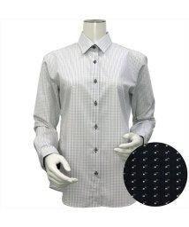 BRICKHOUSE/ウィメンズシャツ長袖形態安定 レギュラー衿 グレー系/502849394