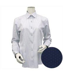 BRICKHOUSE/ウィメンズシャツ長袖形態安定 レギュラー衿 ネイビー系/502849409