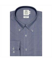 BRICKHOUSE/ワイシャツ長袖形態安定 ボタンダウン綿100% ネイビー系 スリム/502849873