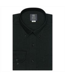 BRICKHOUSE/ワイシャツ長袖形態安定 ボタンダウン ブラック系/502849886
