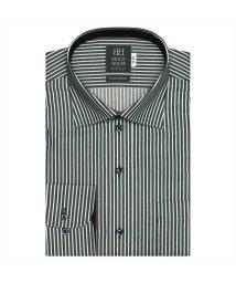 BRICKHOUSE/ワイシャツ長袖形態安定 ワイド綿100% グレー系/502849900
