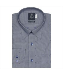 BRICKHOUSE/ワイシャツ長袖形態安定 スナップダウン綿100% ネイビー系/502849967