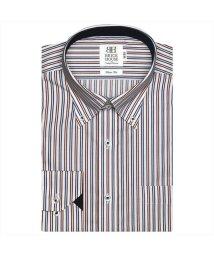 BRICKHOUSE/ワイシャツ長袖形態安定 ボタンダウン エンジ系 スリム/502849999