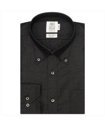 BRICKHOUSE/ワイシャツ長袖形態安定 ボタンダウン綿100% グレー系 スリム/502850000