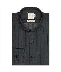 BRICKHOUSE/ワイシャツ長袖形態安定 ホリゾンタルワイド綿100% グレー系 スリム/502850003