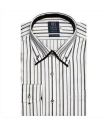 BRICKHOUSE/ワイシャツ長袖形態安定 ボタンダウン綿100% ブラウン系/502850005