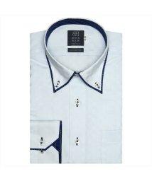 BRICKHOUSE/ワイシャツ長袖形態安定 ボタンダウン綿100% サックス系/502850018