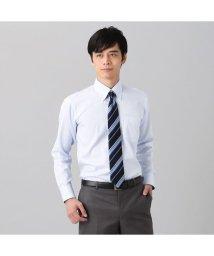 BRICKHOUSE/ワイシャツ長袖形態安定 ボタンダウン綿100% サックス系 スリム/502850025