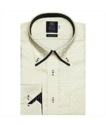 BRICKHOUSE/ワイシャツ長袖形態安定 ボタンダウン綿100% イエロー系/502850046