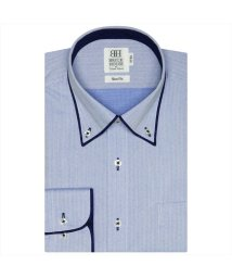 BRICKHOUSE/ワイシャツ長袖形態安定 ボタンダウン ブルー系 スリム/502850102