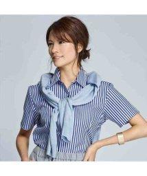 BRICKHOUSE/ウィメンズシャツ半袖形態安定 レギュラー衿 ブルー系/502850188
