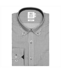 BRICKHOUSE/ワイシャツ長袖形態安定 ボタンダウン グレー系 スリム/502850597