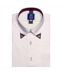 BRICKHOUSE/ワイシャツ 半袖 形態安定 三角マイター ドゥエボットーニ ボタンダウン/502850709