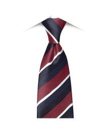 BRICKHOUSE/ネクタイ / ビジネス / フォーマル / 日本製ネクタイ 絹100% エンジ系 ストライプ柄/502850892