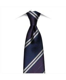 BRICKHOUSE/ネクタイ / ビジネス / フォーマル / 絹100% パープル系 ストライプ/502850909