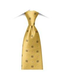 BRICKHOUSE/ネクタイ / ビジネス / フォーマル / 絹100% イエロー系 小紋柄/502850945