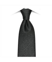 BRICKHOUSE/ネクタイビジネス 日本製 絹100% グレー系 無地柄/502850965