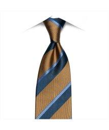 BRICKHOUSE/ネクタイ / ビジネス / フォーマル / 絹100% ライトブラウン系 ストライプ柄(帯電防止)/502851084