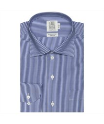 BRICKHOUSE/ワイシャツ長袖形態安定 ワイド綿100% ブルー系 スリム/502851591