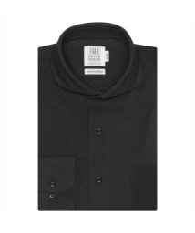 BRICKHOUSE/ワイシャツ長袖形態安定 ホリゾンタルワイド グレー系 スリム/502851629