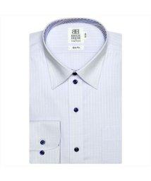 BRICKHOUSE/ワイシャツ長袖形態安定 レギュラー サックス系 スリム/502851639
