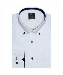 BRICKHOUSE/ワイシャツ長袖形態安定 ボタンダウン サックス系/502851663