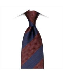 BRICKHOUSE/ネクタイ / ビジネス / フォーマル / 日本製ネクタイ 絹100% エンジ系 ストライプ柄/502851729