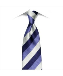 BRICKHOUSE/ネクタイ / ビジネス / フォーマル / 日本製ネクタイ 絹100% ブルー系 ストライプ柄/502851859