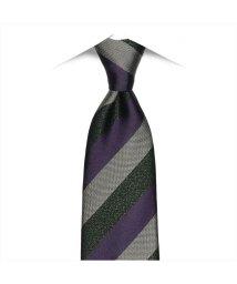 BRICKHOUSE/ネクタイ / ビジネス / フォーマル / 絹100% パープル系 ストライプ/502851930
