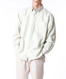 ADAM ET ROPE'/プレミアムコットン BDシャツ/ビッグシルエット/502854051