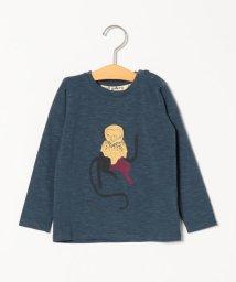 SHIPS KIDS/soft gallery:ORION BLUE MONKEY BABY GEO TEE(80~90cm)/502855536